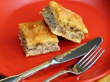 Empanada hecha en casa apetitosa Foto de archivo