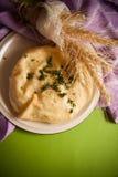 Empanada hecha en casa del queso imágenes de archivo libres de regalías