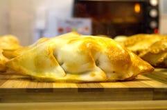 Empanada. Hecha en casa, homemade royalty free stock photo