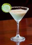 Empanada martini de la cal dominante imágenes de archivo libres de regalías