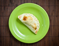 Empanada, meat pie. Royalty Free Stock Images