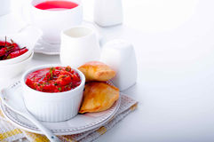 Empanada, meat pie Stock Images