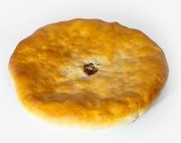 Empanada nacional de Osset, empanada con un relleno de la carne Imágenes de archivo libres de regalías