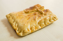 Empanada  a typical dish from Galicia Royalty Free Stock Photos