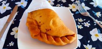 Empanada, Wielkanocna wyspa, Chile zdjęcie royalty free