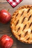 Empanada y manzanas de Apple Foto de archivo