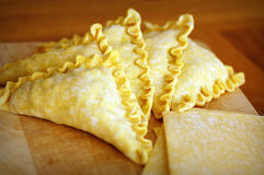 Empanada y soplo Foto de archivo libre de regalías
