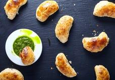 Empanadas -阿根廷烤肉馅饼 免版税库存照片