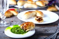Empanadas -阿根廷烤肉馅饼 图库摄影