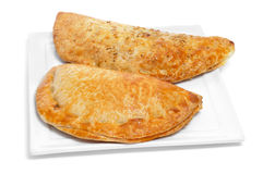 Empanadas argentinas, typical argentine stuffed pastries Royalty Free Stock Photography