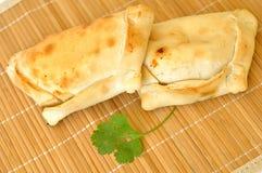 Empanadas chilenos deliciosos Imagen de archivo libre de regalías