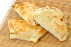 Empanadas chiliens délicieux Images libres de droits
