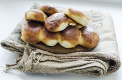 Empanadas con la col guisada Imagen de archivo