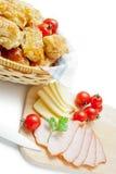 Empanadas de la pasta de hojaldre Foto de archivo libre de regalías