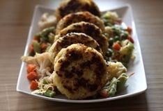 Empanadas de la patata Imagen de archivo
