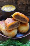 Empanadas de la patata Fotografía de archivo