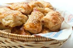 Empanadas de los pasteles de soplo Foto de archivo libre de regalías