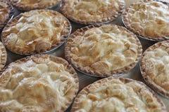 Empanadas de manzana frescas Foto de archivo libre de regalías