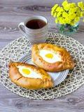 Empanadas del huevo Fotografía de archivo libre de regalías