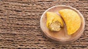 Empanadas deliciosos - cocina colombiana Fotografía de archivo libre de regalías