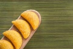 Empanadas deliciosos - cocina colombiana Imágenes de archivo libres de regalías