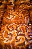 Empanadas hechas en casa Imagen de archivo