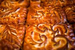 Empanadas hechas en casa Foto de archivo libre de regalías
