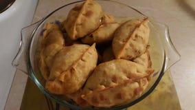 Empanadas. Homemade empanadas originally from Argentina Stock Images