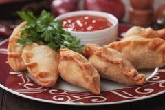 Empanadas, Latin American mini pie Royalty Free Stock Images