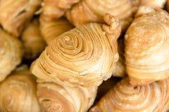 Empanadas ou massa folhada do caril, estilo tailandês dos empanadas fotos de stock royalty free