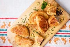 Empanadas (pirozhki) Immagini Stock