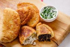 Empanadas (pirozhki) Fotografia Stock Libera da Diritti