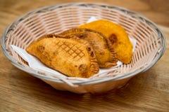 Empanadavleespasteien royalty-vrije stock afbeeldingen