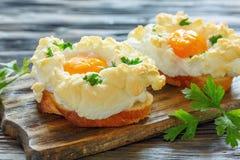 Empane con los huevos cocidos Orsini Fotos de archivo libres de regalías