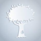 Empapele el árbol Imagen de archivo