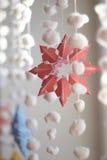 Empapele el copo de nieve Imagen de archivo
