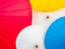 Empapele el paraguas Fotografía de archivo libre de regalías