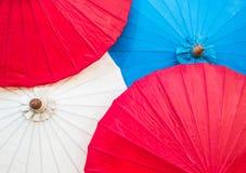 Empapele el paraguas Fotos de archivo libres de regalías