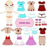 Empapele la muñeca Fotos de archivo libres de regalías