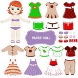 Empapele la muñeca Imagen de archivo libre de regalías