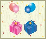 Empaqueta el regalo Foto de archivo