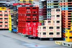 Empaquetado de las bebidas del japonés Fotos de archivo libres de regalías