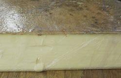 Empaquetado del queso Fotografía de archivo libre de regalías
