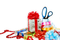 Empaquetado del regalo foto de archivo libre de regalías