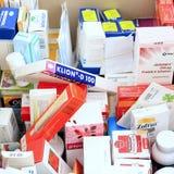 Empaquetado médico Imagen de archivo libre de regalías