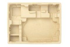 Empaquetage protecteur de pulpe de papier Images stock