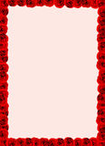 Empaquetez avec la décoration de roses. Illustration Libre de Droits