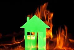 Empaquetez la maison Image stock