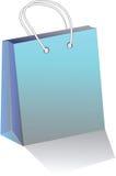 Empaquetez un sac pour des achats illustration de vecteur