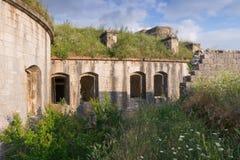Empareda la fortaleza Gorazda montenegro Foto de archivo